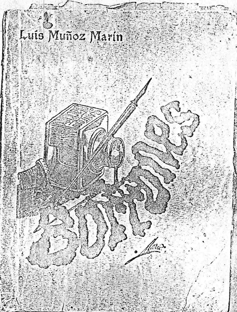 1917 - Portada libro Borrones