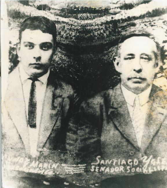 1920 - Foto LMM y Santiago Iglesias Pantín