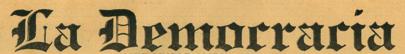 1926 - Logo tipo de La Democracia