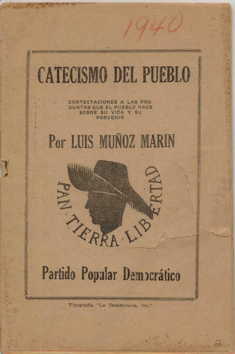 1940 - Catecismo del pueblo
