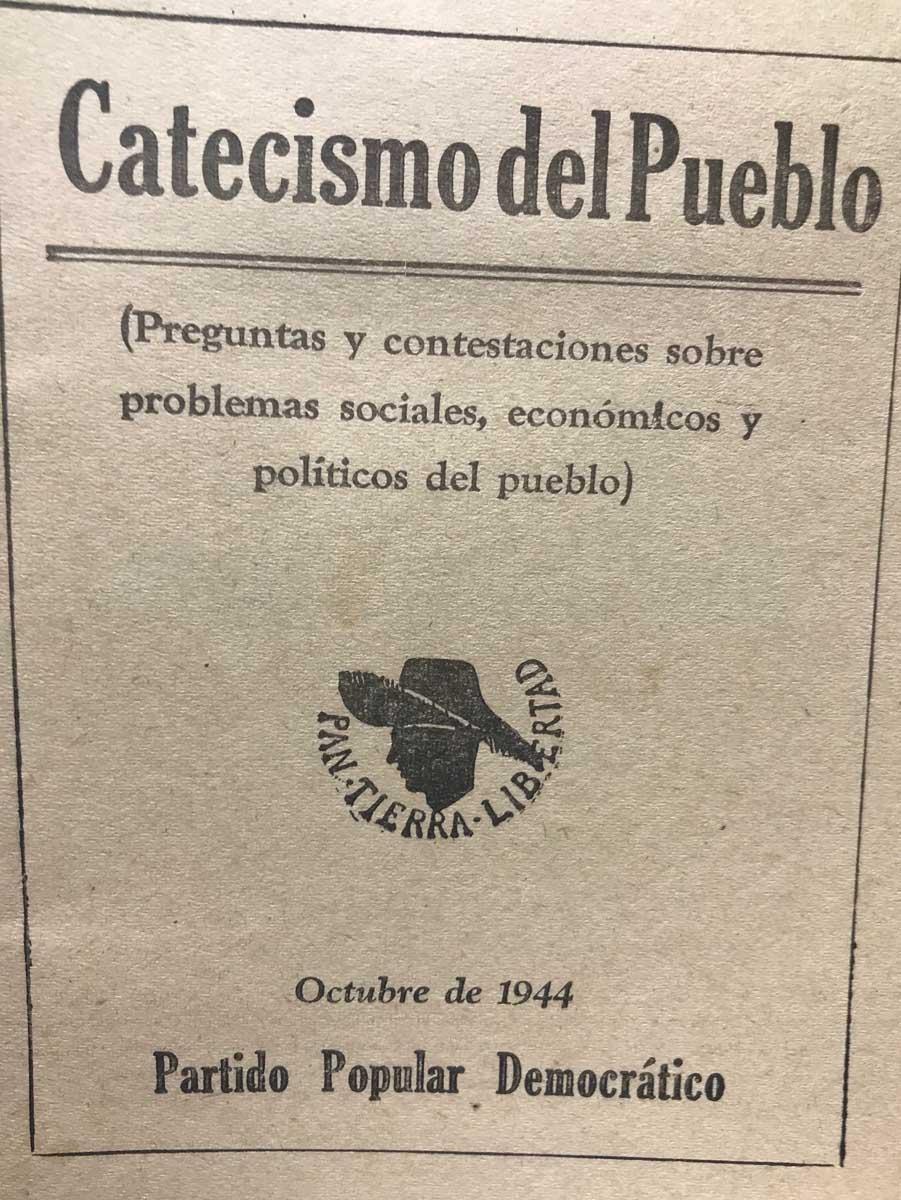 1944 Catecismo del Pueblo